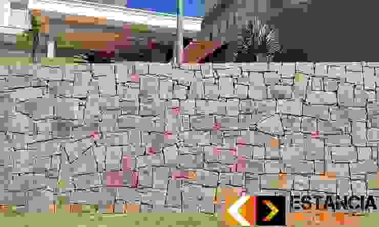 Estância Pedras Rustic style walls & floors