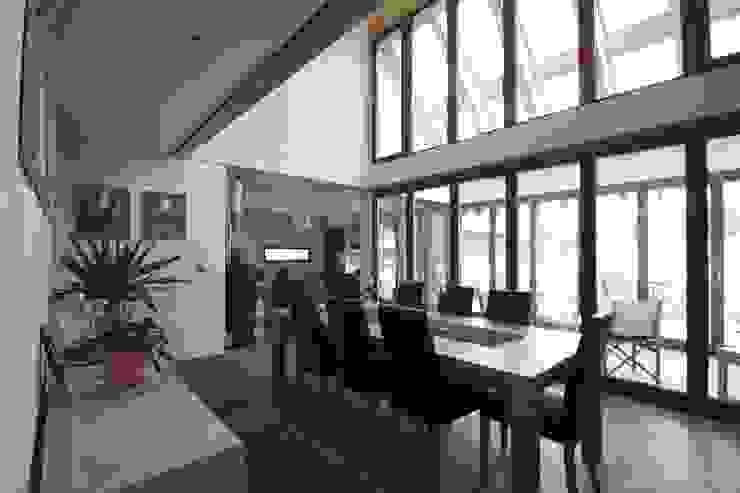Featherbrook House Moderne Esszimmer von PKA Architects Ltd Modern
