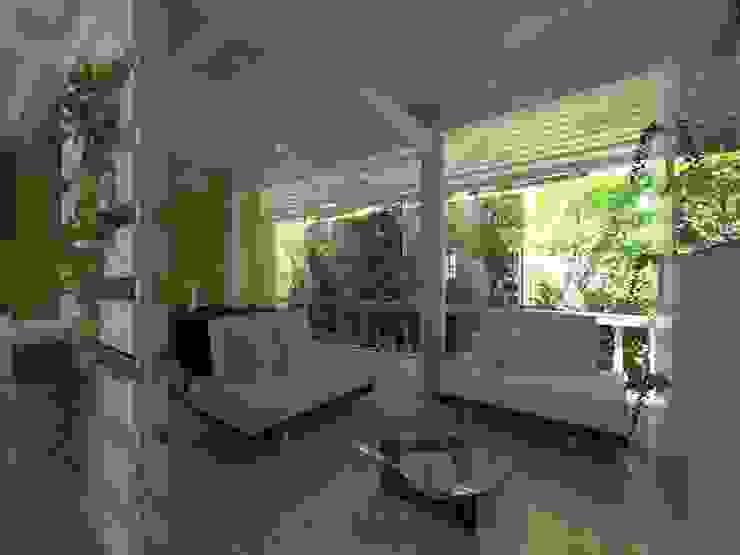 Proyecto de Remodelacion Depto. Lazaro Cardenas, Mich. Salones modernos de IDEA Studio Arquitectura Moderno