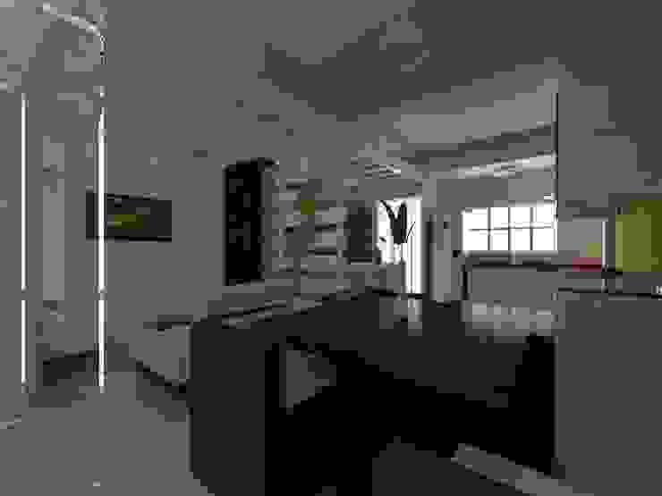 Proyecto de Remodelacion Depto. Lazaro Cardenas, Mich. Comedores modernos de IDEA Studio Arquitectura Moderno