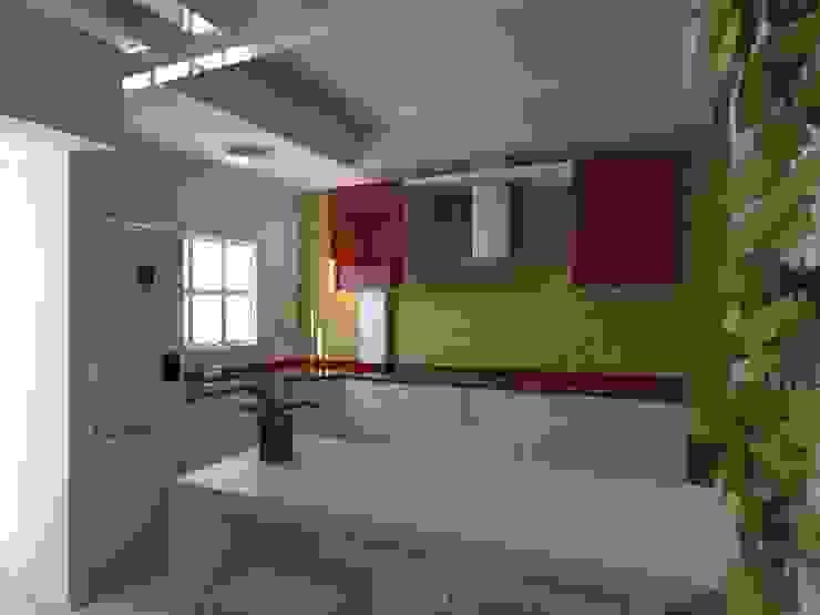 Proyecto de Remodelacion Depto. Lazaro Cardenas, Mich. Cocinas modernas de IDEA Studio Arquitectura Moderno