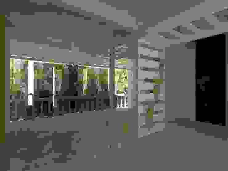 Proyecto de Remodelacion Depto. Lazaro Cardenas, Mich. Paredes y pisos de estilo moderno de IDEA Studio Arquitectura Moderno