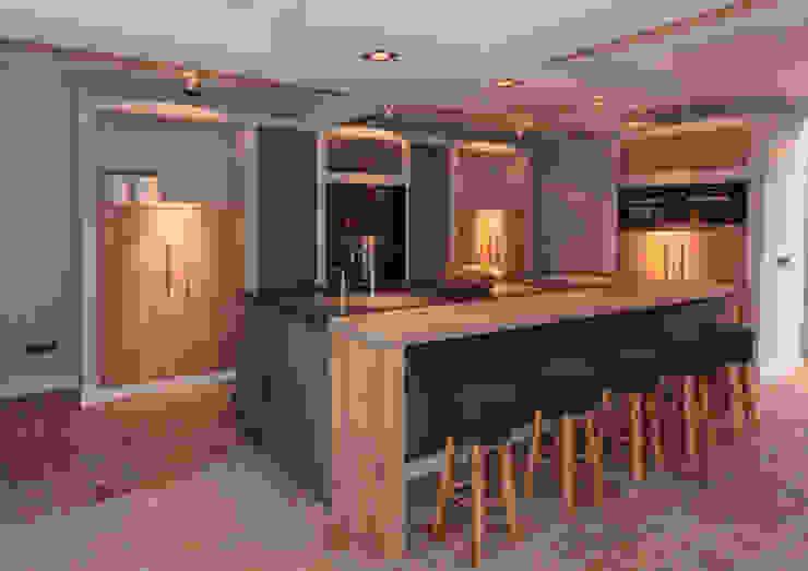 مطبخ تنفيذ Thijs van de Wouw keuken- en interieurbouw, حداثي