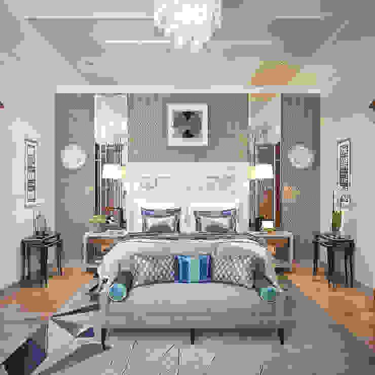 Спальня в стиле Ар-деко Спальня в стиле модерн от Sweet Home Design Модерн
