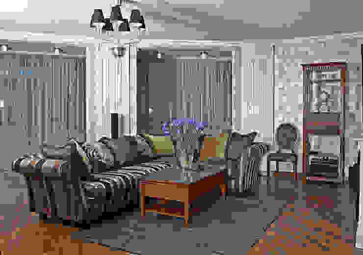 Квартира 210 м.кв. Гостиная в классическом стиле от Соловьева Мария Классический
