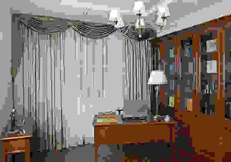 Квартира 210 м.кв. Рабочий кабинет в классическом стиле от Соловьева Мария Классический