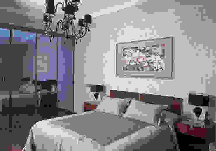 Квартира 210 м.кв. Спальня в классическом стиле от Соловьева Мария Классический