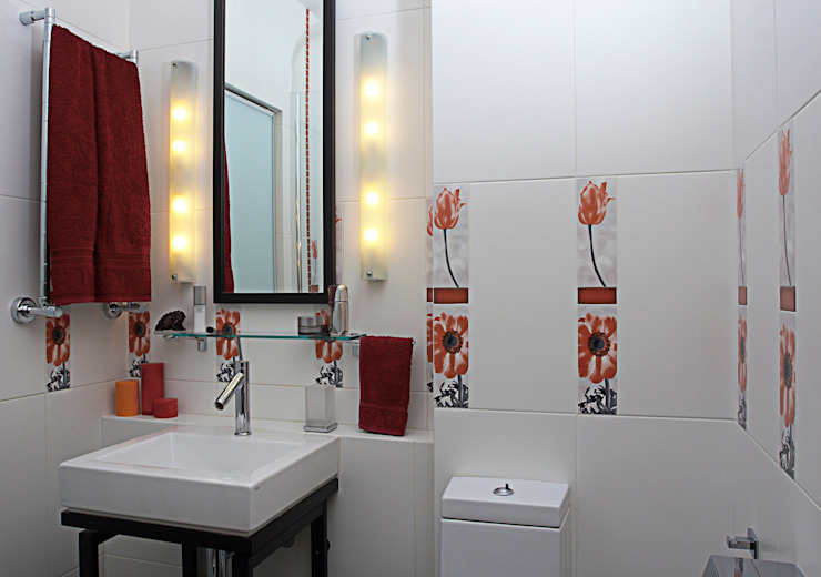 Квартира 210 м.кв. Ванная комната в стиле модерн от Соловьева Мария Модерн