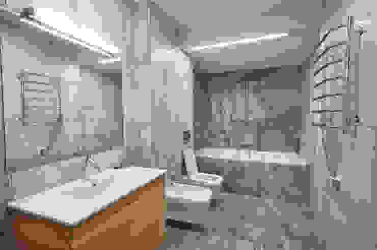 GoodLife Park дом №2 Ванная комната в стиле минимализм от TSEH Architectural Group Минимализм