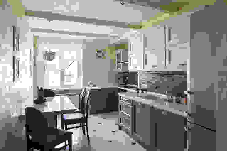 квартира 142 м.кв. Кухня в классическом стиле от Соловьева Мария Классический