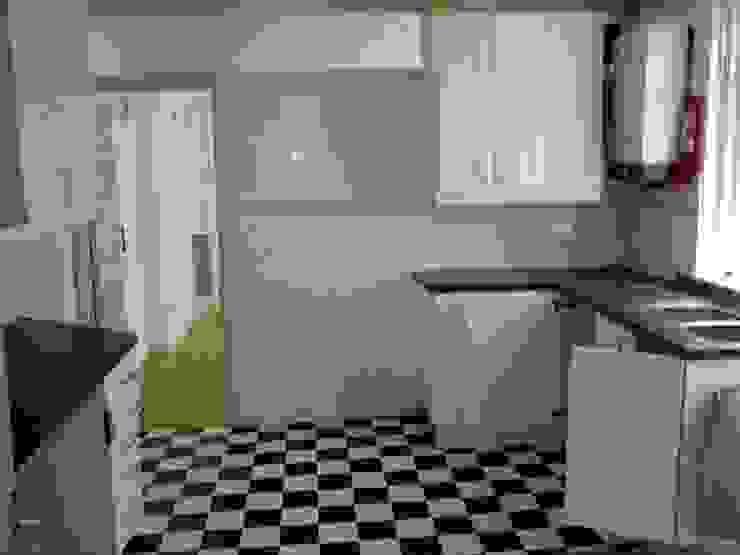 Kitchen before: modern  by Ben Jurin Architecture Ltd, Modern