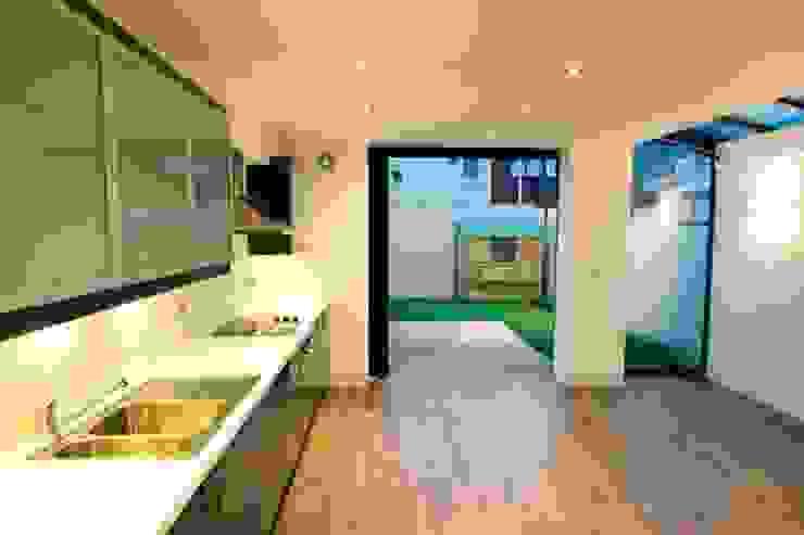 Kitchen after: modern  by Ben Jurin Architecture Ltd, Modern