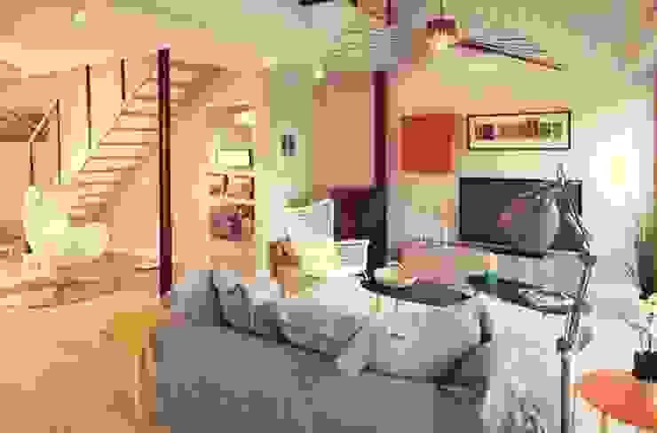 Confidentiel Salon moderne par Ludlow Interior Moderne