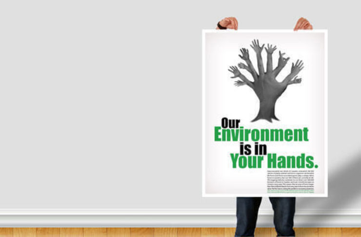 Poster Paper de Banner Buzz Moderno