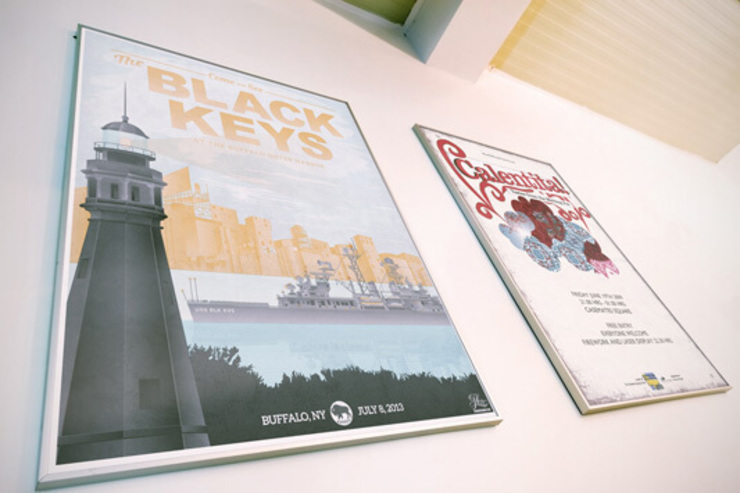 Events publicity posters de Banner Buzz Moderno