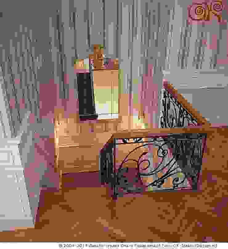 Лестничная зона Коридор, прихожая и лестница в классическом стиле от Дизайн студия Ольги Кондратовой Классический