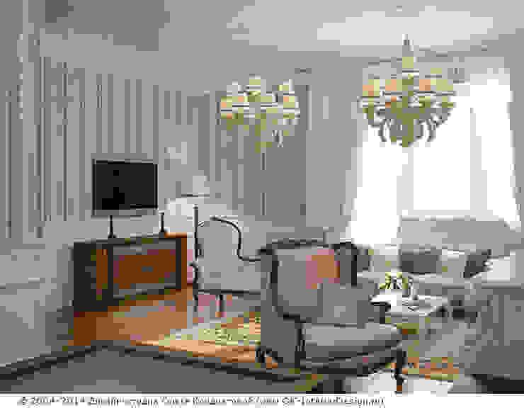 Гостиная Гостиная в классическом стиле от Дизайн студия Ольги Кондратовой Классический