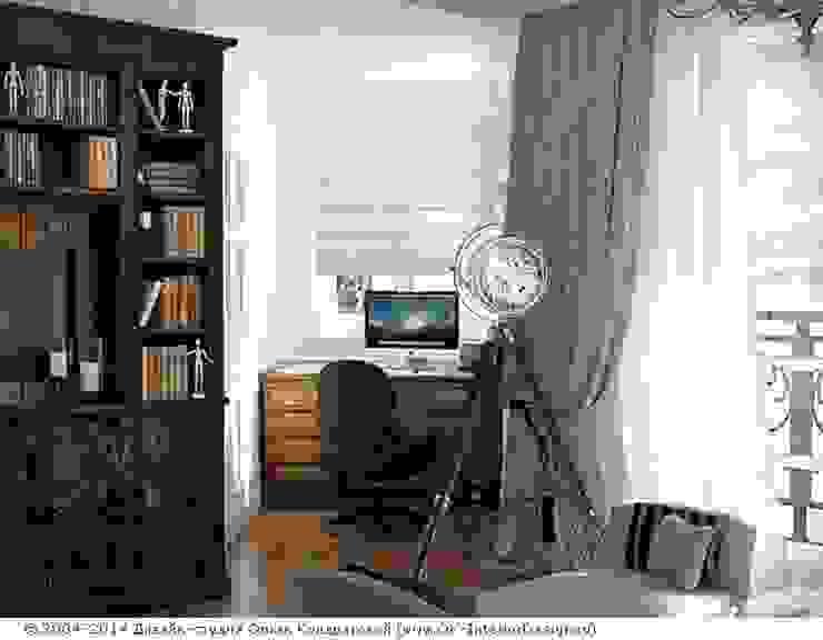 Небольшой кабинет Рабочий кабинет в классическом стиле от Дизайн студия Ольги Кондратовой Классический