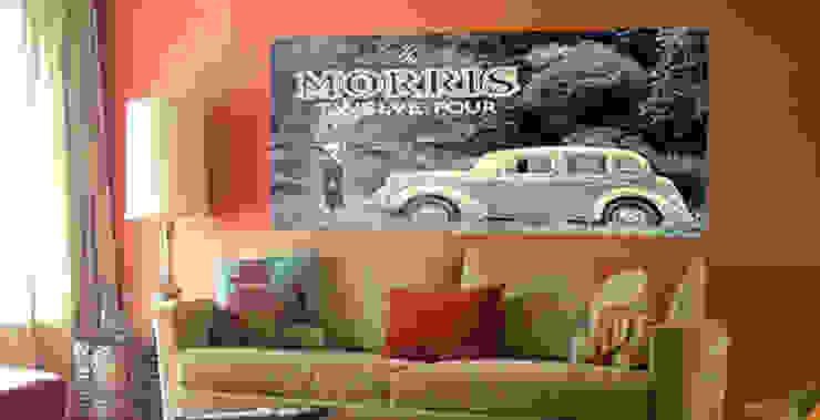 Wall Fabric de Banner Buzz Moderno