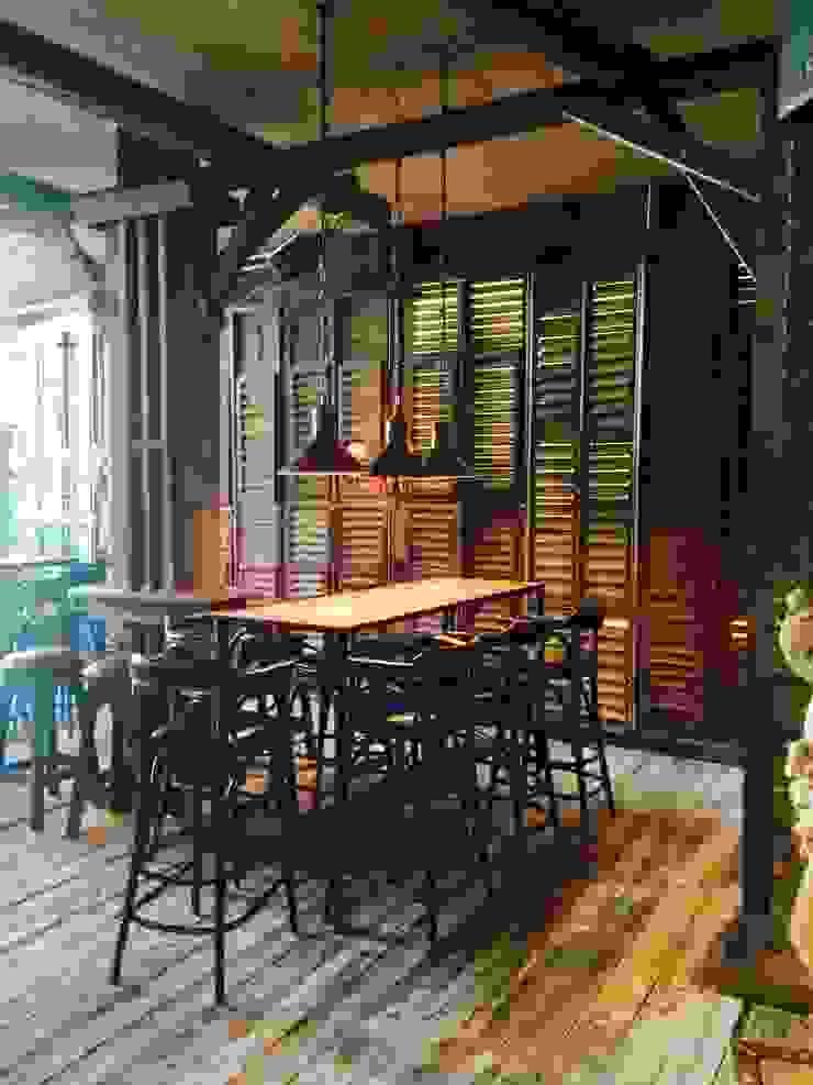 London Ninth Ward Bar & Restaurant Farringdon road,london woodstylelondon Eclectic style bars & clubs