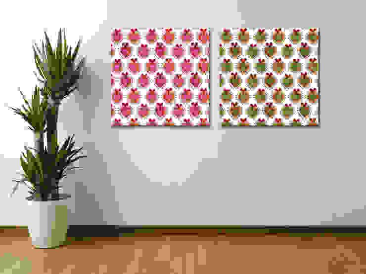 Custom Wall Fabric de Banner Buzz Moderno