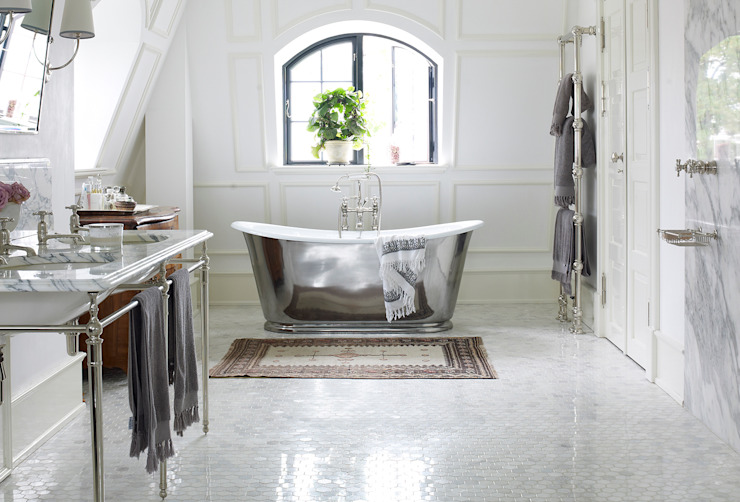 Drummonds Case Study: European Retreat, Denmark Salle de bain scandinave par Drummonds Bathrooms Scandinave