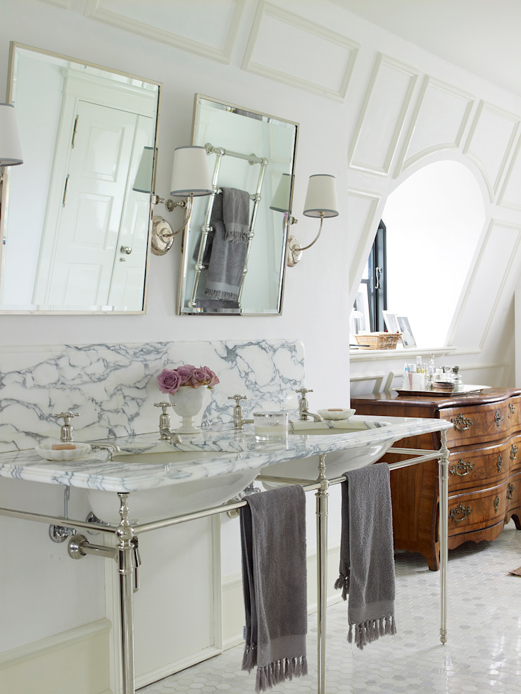Drummonds Case Study: European Retreat, Denmark Drummonds Bathrooms BathroomSinks