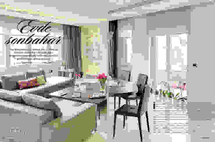 Ulus projesi Modern Oturma Odası Pan Mimarlık Modern