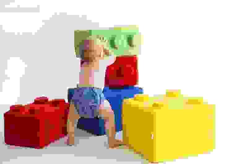 Poduchy LEGO od NOOBOO Nowoczesny