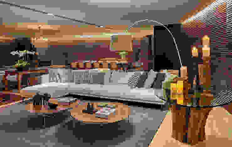 Apartamento AS Salas de estar modernas por Beth Nejm Moderno
