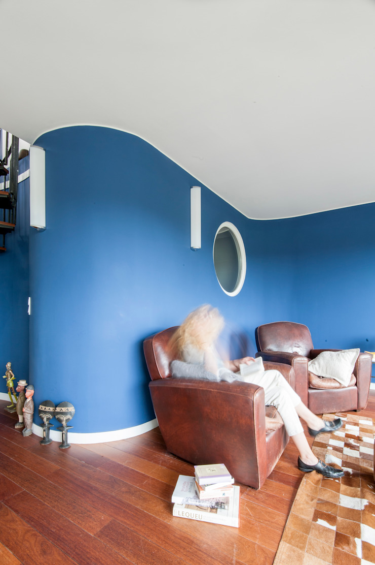 séjour Salon moderne par goodnova godiniaux Moderne