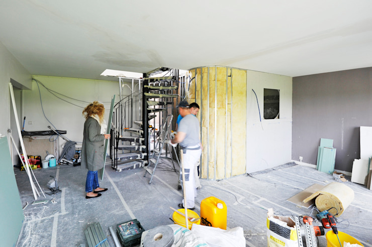 chantier séjour par goodnova godiniaux Moderne