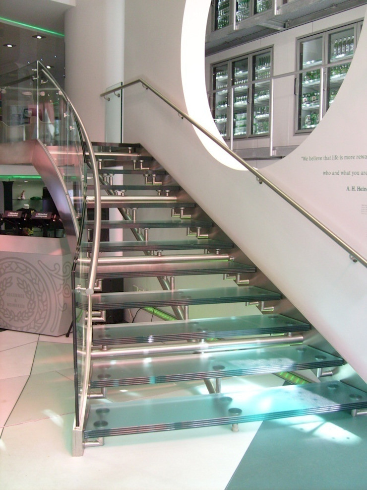 Heineken Brand Store te Amsterdam Moderne winkelruimten van Snep Exclusieve Metalen BV Modern