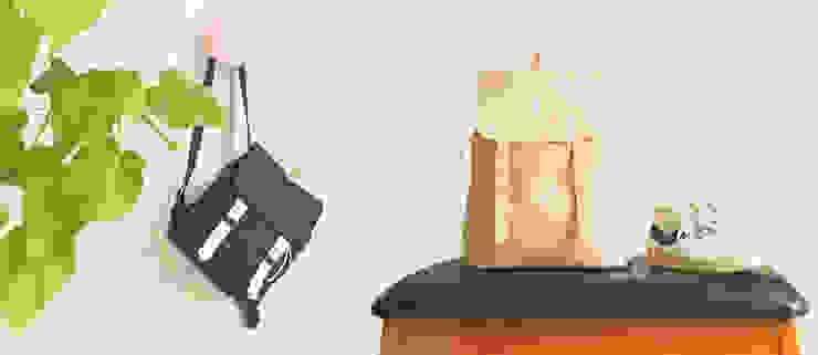 Backpacking Mini // Backpacking van Puc Minimalistisch Leer Grijs
