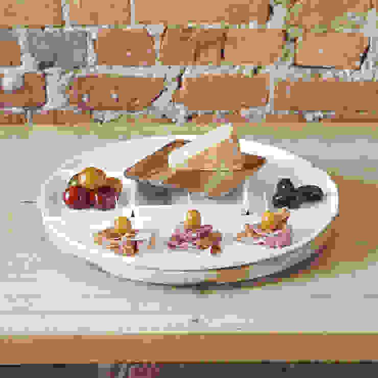 Набор из 5 блюд и подноса для сервировки Spun от Enjoyme Лофт