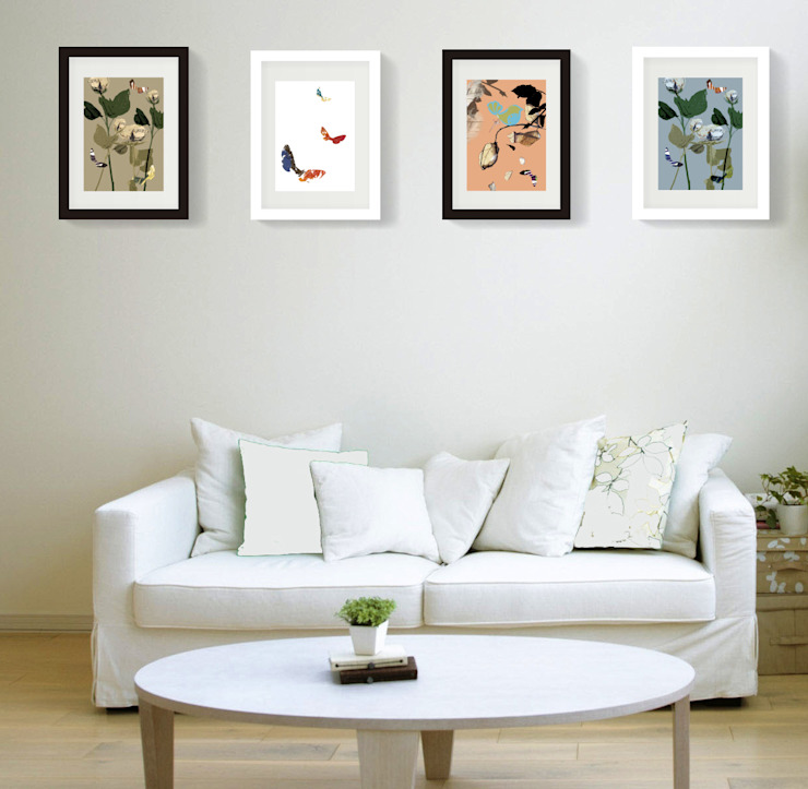 Wall Art: modern  by Ria Rich Creative, Modern