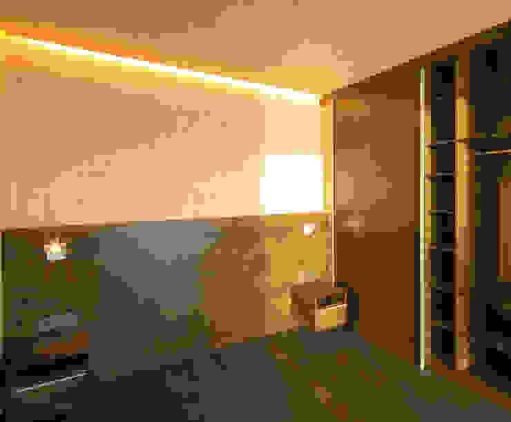 ห้องนอน โดย Pilzarchitektur,