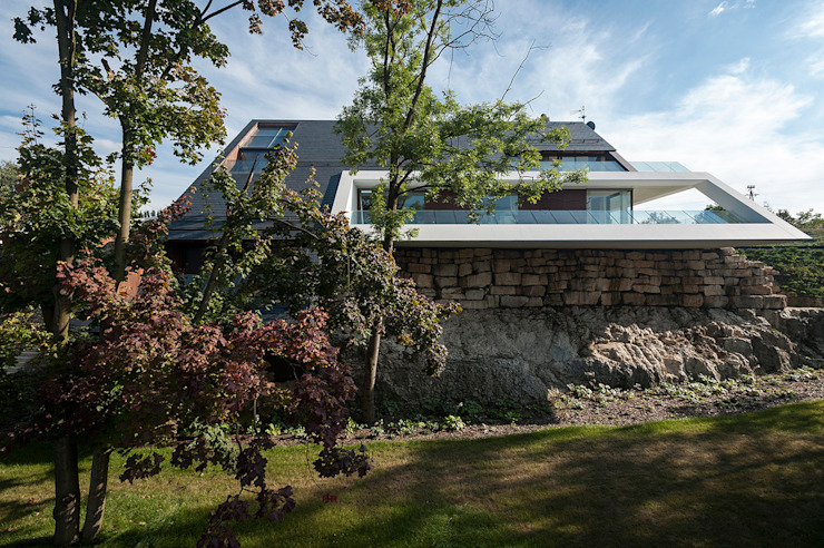 EDGE HOUSE Nowoczesne domy od MOBIUS ARCHITEKCI PRZEMEK OLCZYK Nowoczesny