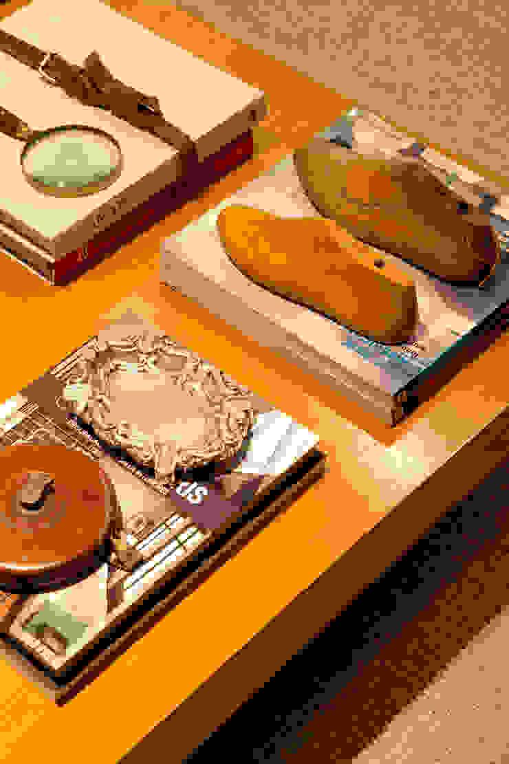Mesa de centro por Angela Medrado Arquitetura + Design Eclético