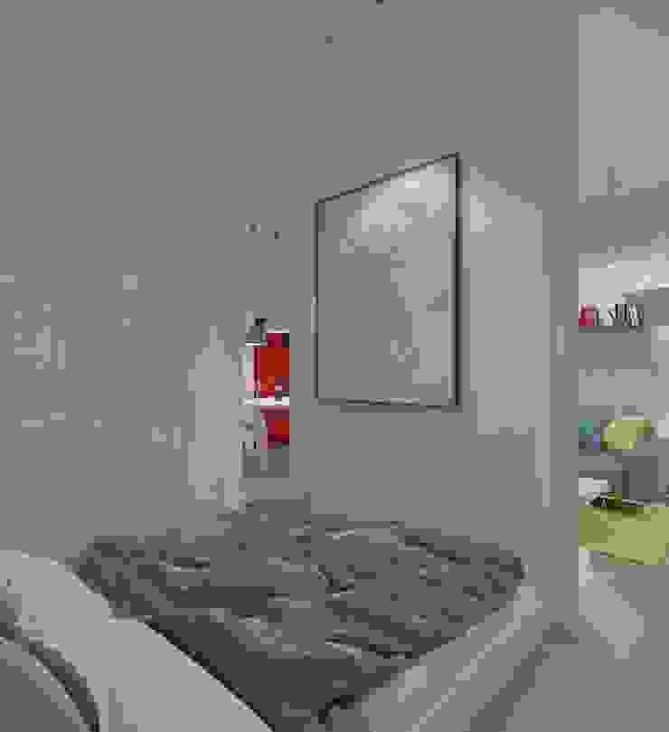 Habitaciones de estilo industrial de The Vibe Industrial