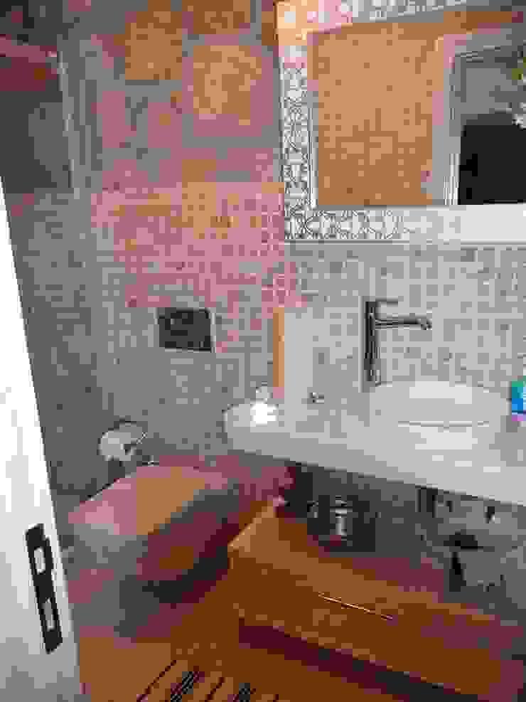 Adatepe Projesi Rustik Banyo EKa MİMARLIK Rustik