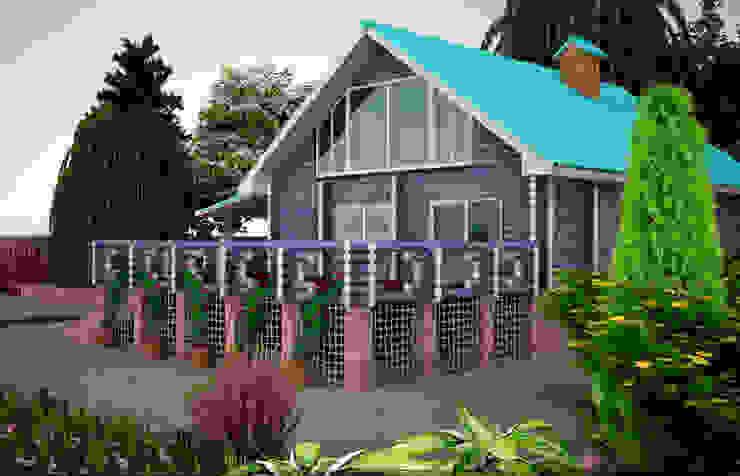 Загородный дом дизайнер Алина Куракова Дома в стиле кантри