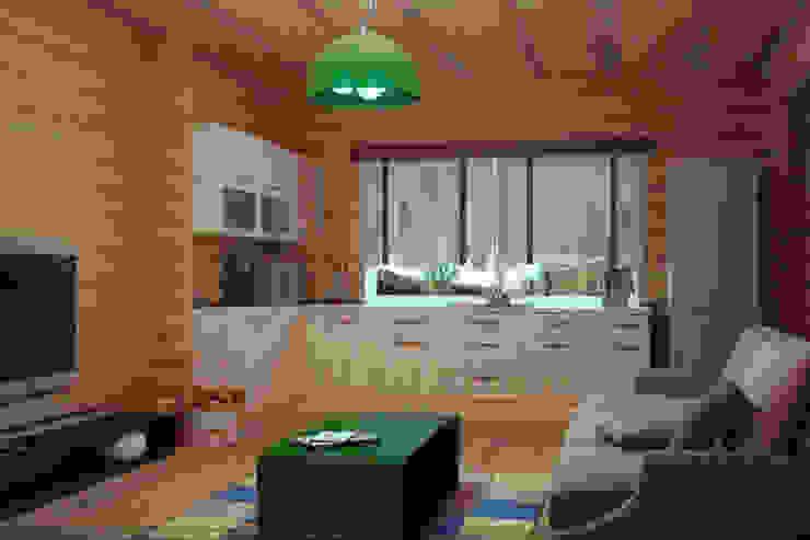 Загородный дом Кухня в стиле кантри от дизайнер Алина Куракова Кантри