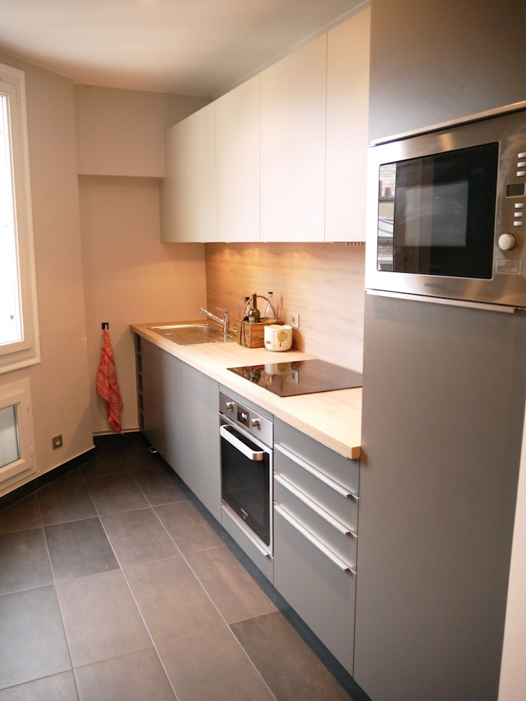 Dapur Modern Oleh Agence Laurent Cayron Modern
