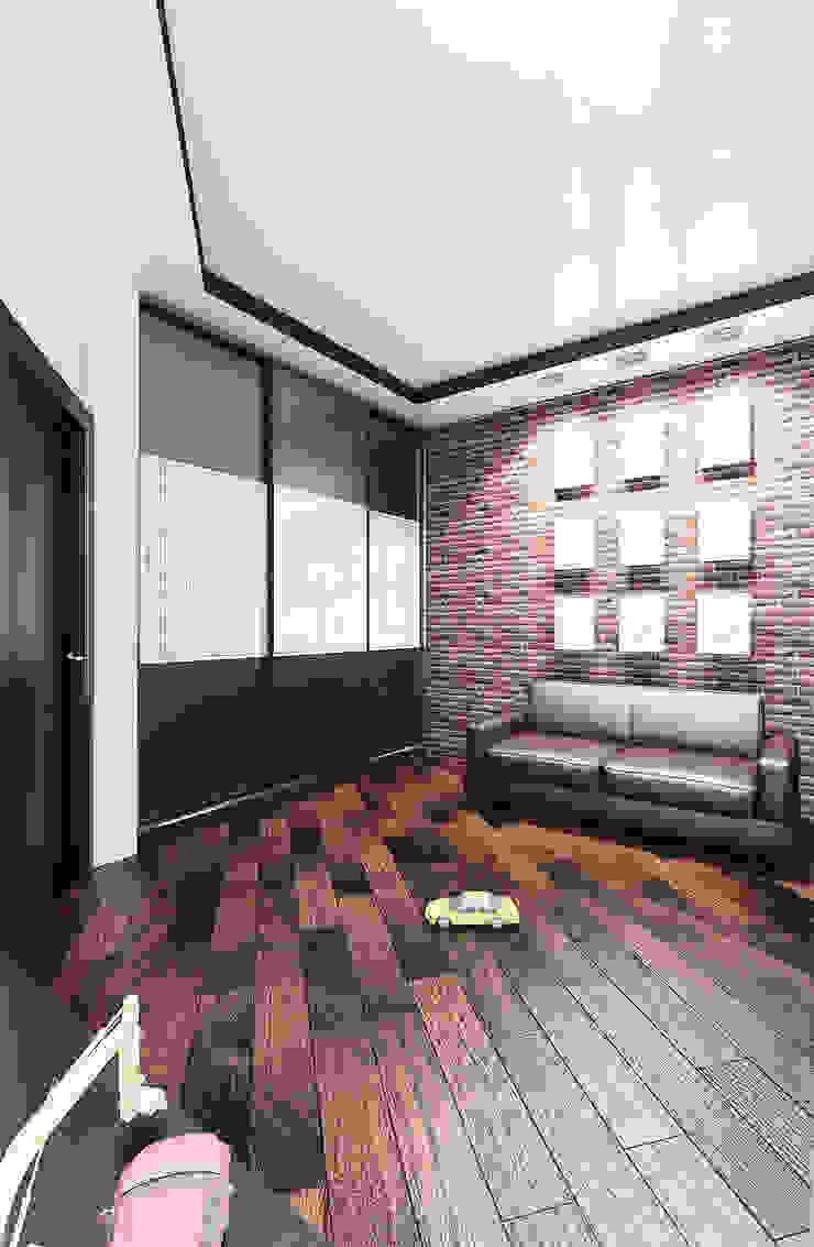 Chambre d'enfant minimaliste par дизайнер Алина Куракова Minimaliste