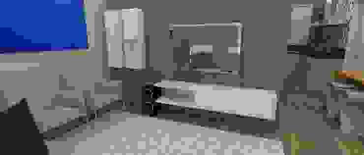 APARTAMENTO MI Salas de estar modernas por ESTUDIO ARK IT Moderno