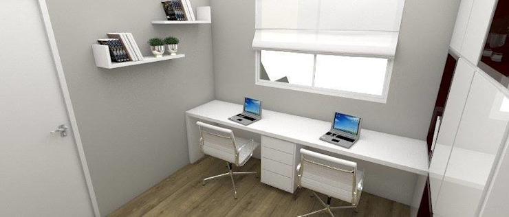 APARTAMENTO MI Escritórios modernos por ESTUDIO ARK IT Moderno