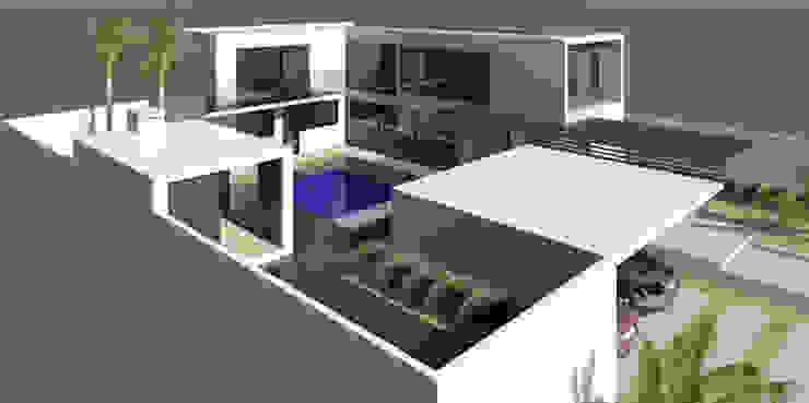 CASA CONTAINER Casas modernas por ESTUDIO ARK IT Moderno