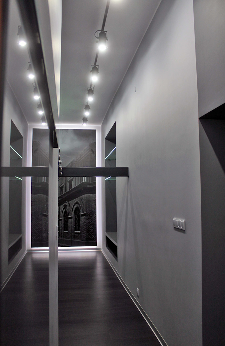 Modern Corridor, Hallway and Staircase by WE LOFT DESIGN Modern