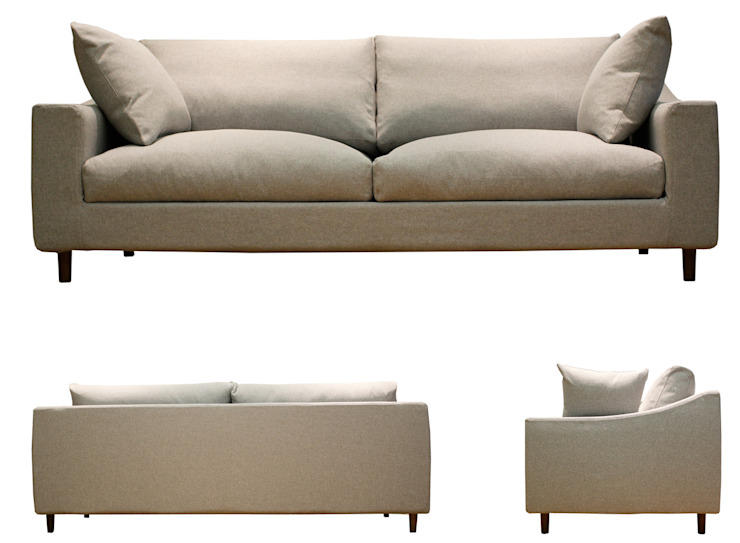 Sofa BREATH オリジナルデザインの リビング の 株式会社 3rd オリジナル